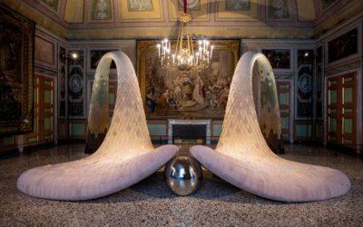 アルカンターラ社、ミラノの王宮で美術展「De Coding(解読)」を開催