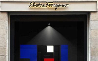 「Salvatore Ferragamo(サルヴァトーレ フェラガモ)」、ミラノ店舗で「イタロ・ロータの世界」を展示