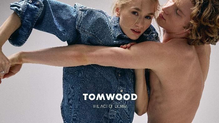 「TOMWOOD(トムウッド)」、2019年春夏デニムコレクションのイメージルックを制作