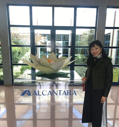 「Alcantara®(アルカンターラ®)」って何? ローマの工場見学編