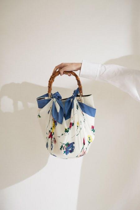 春はスカーフで時短コーデ 首・腰・髪やバッグに彩り~「ガリャルダガランテ×ヘリテノーム」のアレンジ術