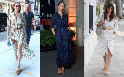 春夏のドレスコードは1枚で洗練美人になれる「シャツワンピース」!海外セレブのこなれた着こなし5選