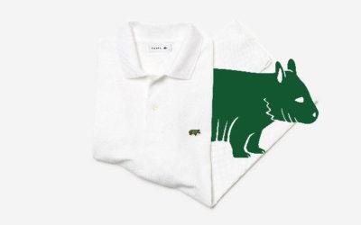 「LACOSTE(ラコステ)」、絶滅危惧種動物保護のチャリティ ポロシャツを発売