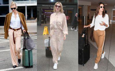 旅コーデ、どうする?海外セレブの「リラックスムード漂う空港ファッション」を拝見!