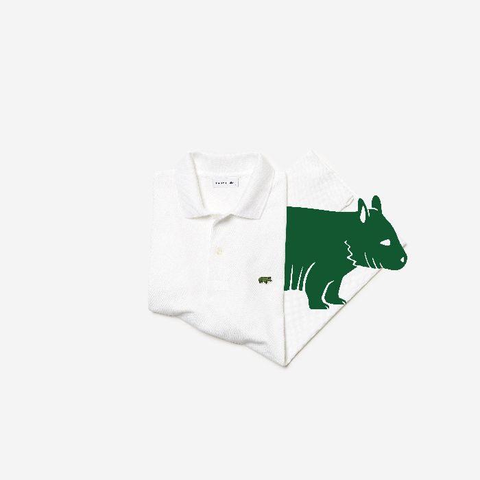 「LACOSTE(ラコステ)」、絶滅危惧種動物保護のチャリティ ポロシャツ1種類を発売