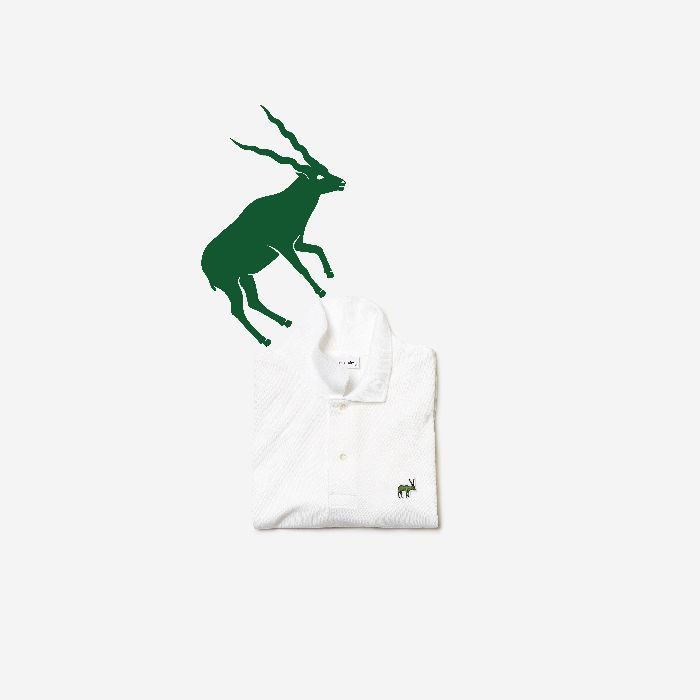 l「LACOSTE(ラコステ)」、絶滅危惧種動物保護のチャリティ ポロシャツ1種類を発売