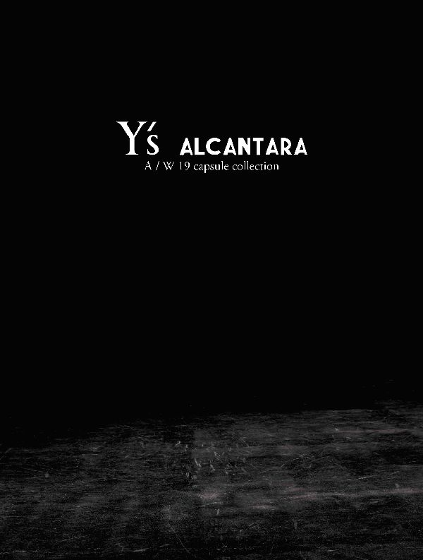 「Y's」は東京でランウェイ形式のコレクションを発表 アルカンターラと2回目のコラボが実現