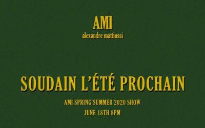 ami alexandre mattiussi(アミ アレクサンドル マテュッシ)2020年春夏コレクション・ランウェイショー ライブストリーミング