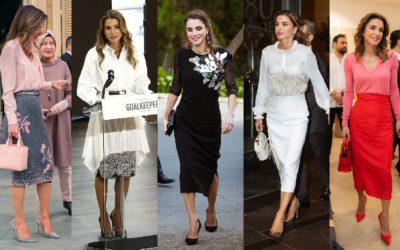 世界で最も美しい!ラーニア王妃の「好感度が上がるノーブルなタイトスカートスタイル」5選