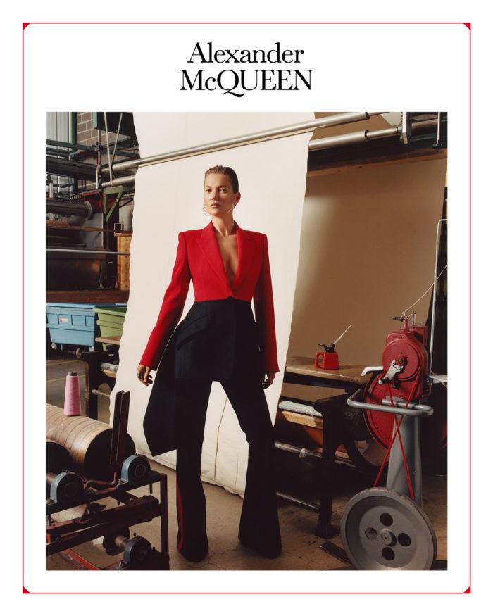 「Alexander McQeen(アレキサンダー・マックイーン)」、広告キャンペーンにケイト・モスを起用