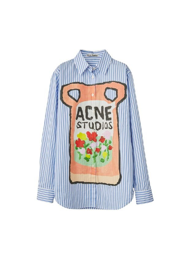 「Acne Studios(アクネ ストゥディオズ)」、洗剤のパッケージに当て込んだカプセルコレクションを発表 LAのアーティストとコラボ