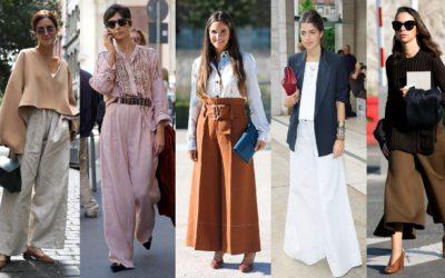 スタイルアップが叶う「細見えワイドパンツ」の着こなし5選