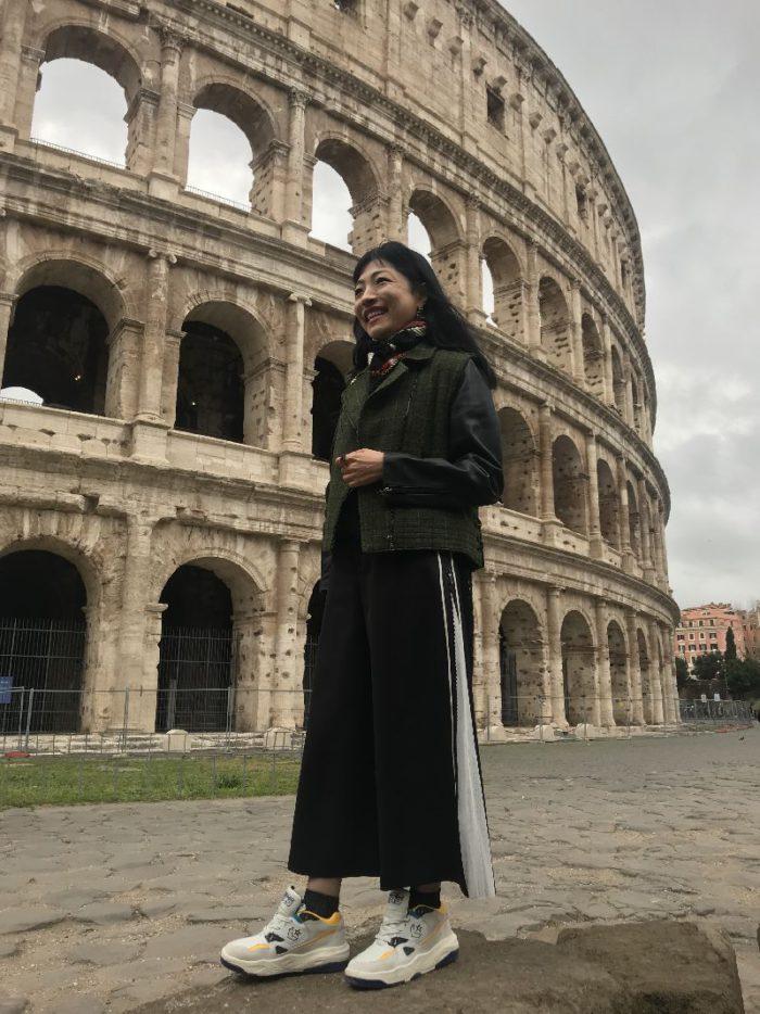 イタリア・ローマ」プレスツアー Alcantara®(アルカンターラ®)