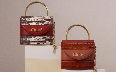 「Chloé(クロエ)」、新作バッグ「ABY LOCK」と「ABY」新サイズを発売
