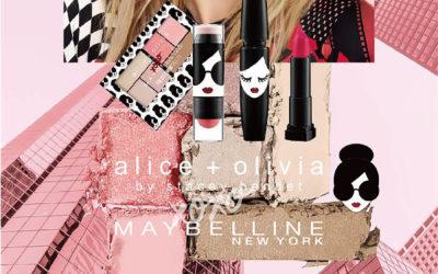 「alice + olivia(アリス アンド オリビア)」がメイベリン ニューヨークとコラボ