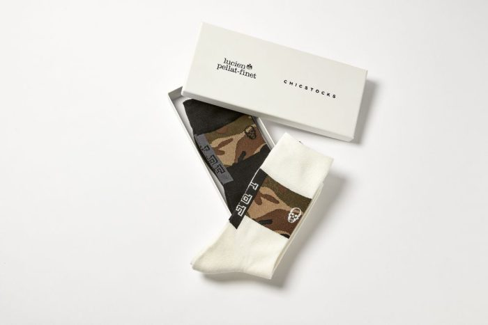 「lucien pellat-finet(ルシアン ペラフィネ)」と「CHICSTOCKS(シックストックス)」のコラボソックス発売