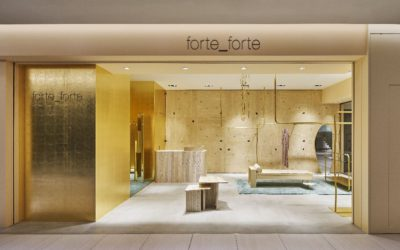 「forte_forte(フォルテ フォルテ)」、GINZA SIXにオープン