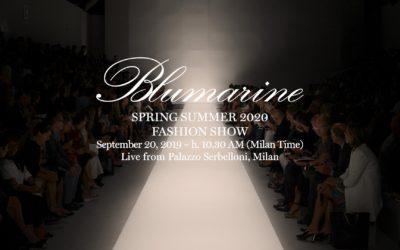 Blumarine(ブルマリン)2020年春夏ミラノコレクション・ランウェイショー ライブストリーミング