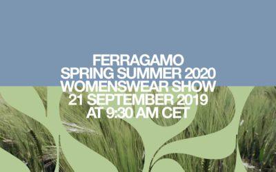 Salvatore Ferragamo(サルヴァトーレ フェラガモ)2020年春夏ミラノコレクション・ランウェイショー ライブストリーミング