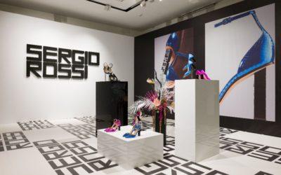 「Sergio Rossi(セルジオ ロッシ)」、2020年春夏コレクションを発表 ロゴモチーフを新たにアレンジ