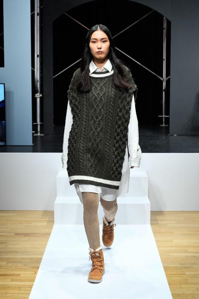 「SOREL(ソレル)」、日本初のファッションショーを開催