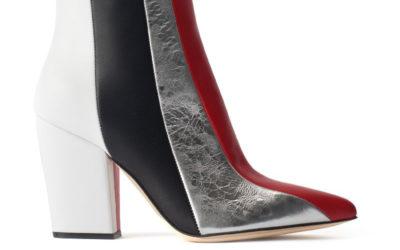 「Sergio Rossi(セルジオ ロッシ)」、ストライプデザインのブーツを発売