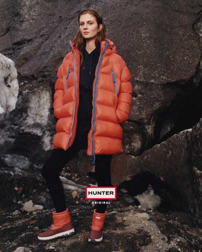 「HUNTER(ハンター)」、2019-20年秋冬コレクションのルック公開 大胆なプリントでアウトドア気分を盛り上げて