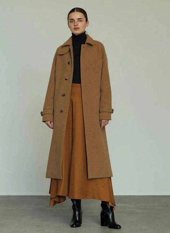 ロングスカートでスタイルアップ! 19-20年秋冬の注目トレンドコーデ実例