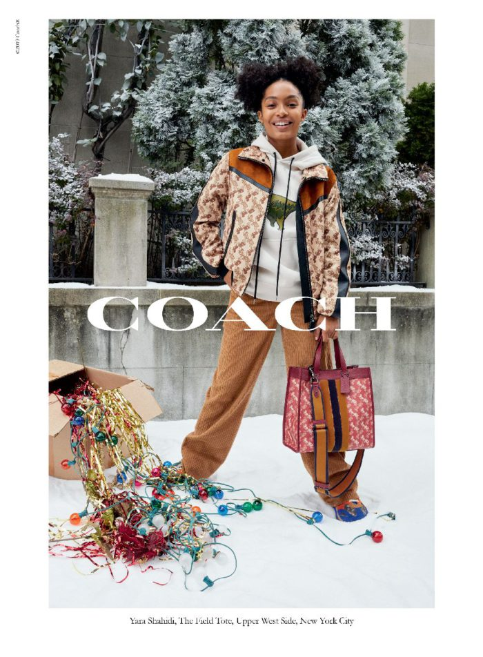 """「COACH(コーチ)」、2019年ホリデーシーズン キャンペーンに多彩なキャストを起用 新作""""Horse and Carriage""""コレクションも登場"""