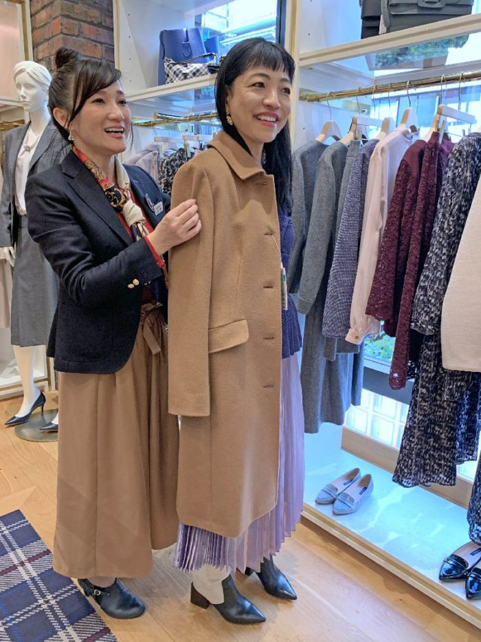 NEWYORKER(ニューヨーカー)」でコートのパターンオーダーを体験