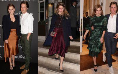 婚約した英国ベアトリス王女の6つのコーデに注目!シャイニー素材を品よく着る「王室テクニック」とは?