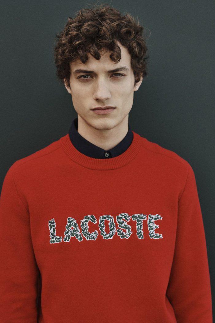 「LACOSTE(ラコステ)」、無数のワニロゴで表現した「CROCO MAGIC」コレクション発売
