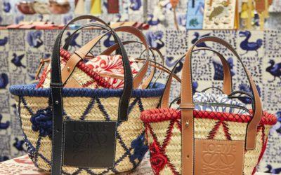 「LOEWE(ロエベ)」、伊勢丹新宿店でポップアップイベントを開催 冬仕様の籠バッグが登場