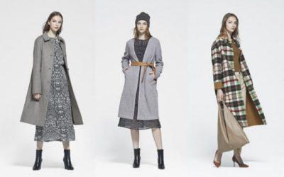 柄・色の工夫で着ぶくれしない 冬コートの最新コーデ 「MACKINTOSH LONDON(マッキントッシュ ロンドン)」から