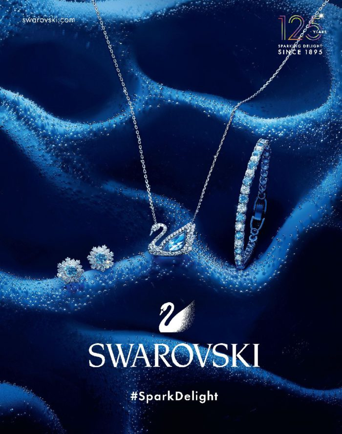 「SWAROVSKI(スワロフスキー)」、125周年のアニバーサリーコレクションを発売