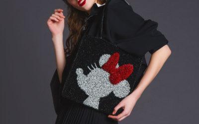 「ANTEPRIMA(アンテプリマ)」、ミッキーマウスとミニーマウスにフィーチャーしたワイヤーバッグを発売