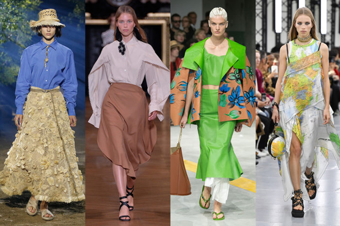 2020年春夏6大ファッショントレンド 「きれいめシンプルや涼感ウエアが主役に 最重要テーマはサステナビリティー」