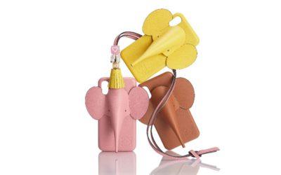 愛らしいゾウの革細工 「LOEWE(ロエベ)」、iPhone用エレファントカバーを発売