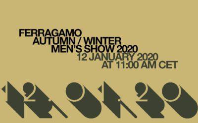 Salvatore Ferragamo(サルヴァトーレ フェラガモ)2020年秋冬ミラノメンズコレクション・ランウェイショー ライブストリーミング