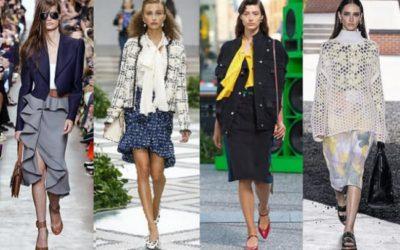 2020年春夏ファッショントレンド 控えめシルエット細部は凝って 「静と動」の組み合わせ
