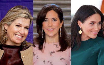 王女の決め手は「イヤリング」!耳元のおしゃれで差をつける5人の王室コーデを拝見