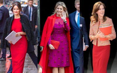 幸運を引き寄せる!王妃・王女の華やぎコーデに学ぶ「赤」の着こなし5選