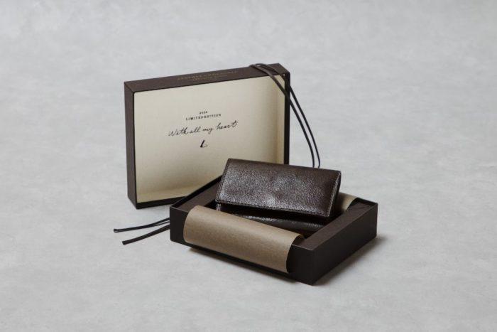 土屋鞄製造所がチョコレート風のキーケースを限定発売 バレンタインデーギフトに好適