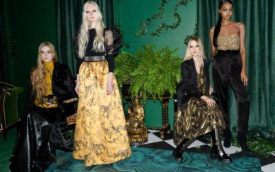 「alice + olivia(アリス アンド オリビア)」、2020-21年秋冬コレクションを発表 世界を旅する、芯の強い女性像