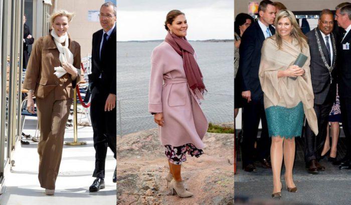 寒暖差の激しい2月に最適!王妃たちが愛用する「ストール」の賢い着こなし
