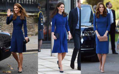 世界が注目するキャサリン妃に学ぶ!2020年のトレンドカラー「ブルー」の着こなし