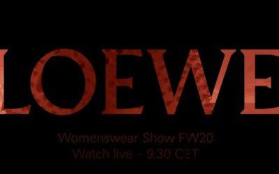 LOEWE(ロエベ)2020-21年秋冬コレクション・ランウェイショー ライブストリーミング