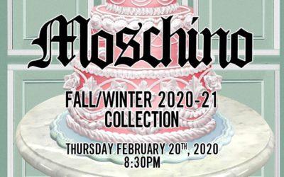 MOSCHINO(モスキーノ)2020年秋冬コレクション・ランウェイショー ライブストリーミング