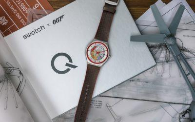 Qの時計を発売、「SWATCH(スウォッチ)」から007コレクションの7番目登場