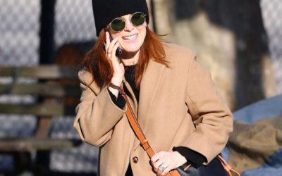「LOEWE(ロエベ)」のバッグやコートをまとったセレブリティーを欧米の各地で目撃!